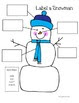 Snowman Writing Freebie Pack!