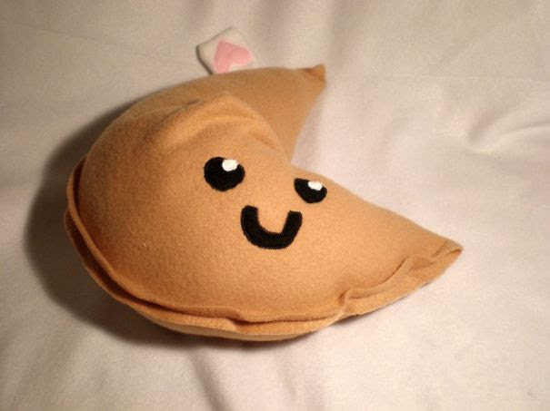 Fortune Cookie Pillow