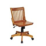 Amazon.com: Wood - Home Office Desk Chairs / Home Office Furniture ...