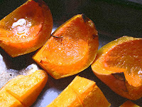 Photo by Sheila Webber: Roast squash
