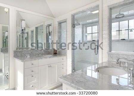 Modern Master Bath In Luxury Home Stock Photo 33720080 : Shutterstock