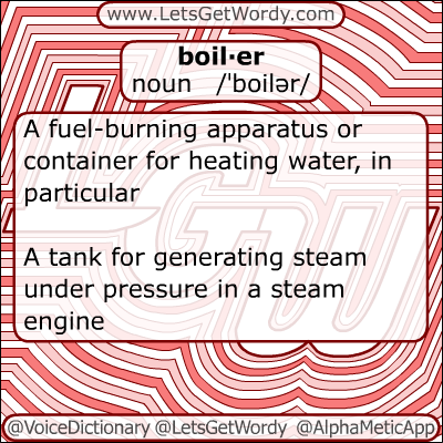 Boiler 12/24/2012 GFX Definition of the Day