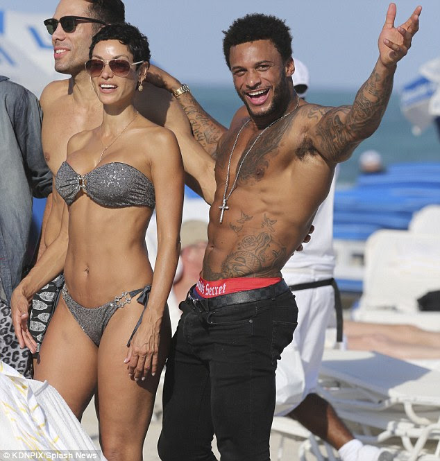 Fit bodies: Nicole and David both have enviable bodies