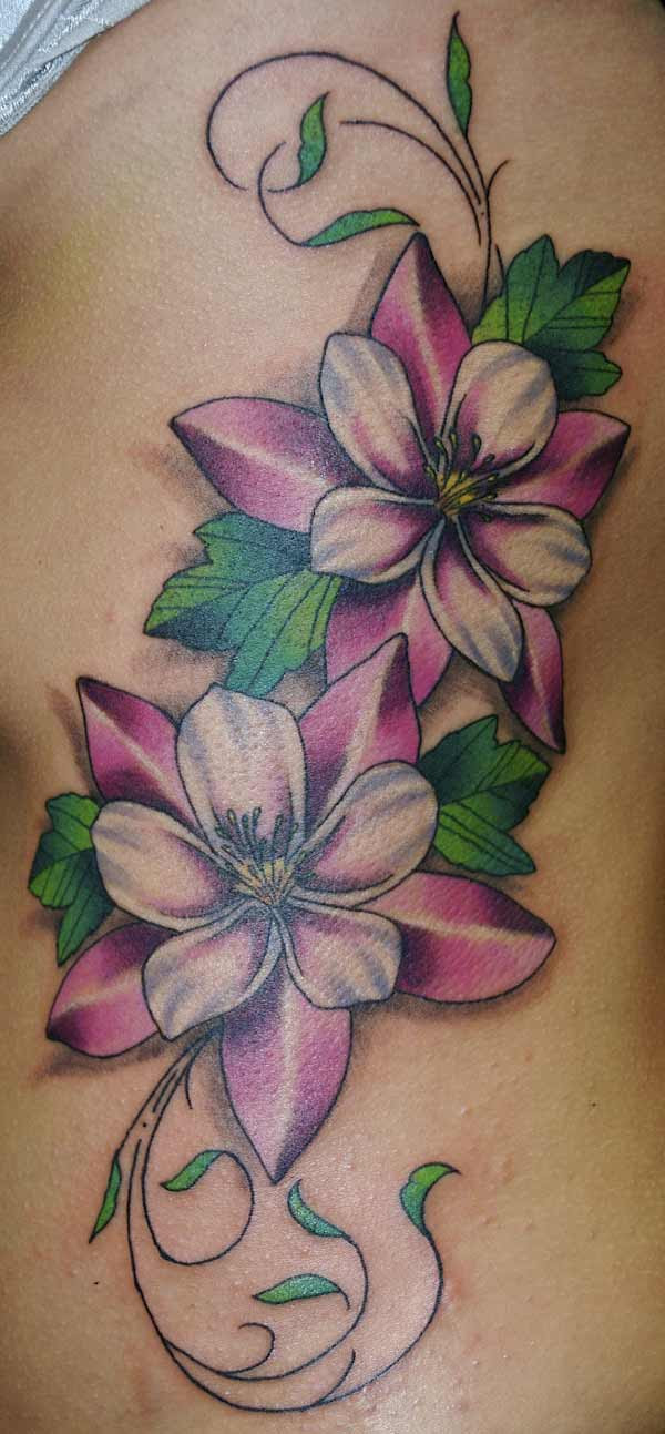Best Purple Rose Vine Tattoo Designs Tattoomagz