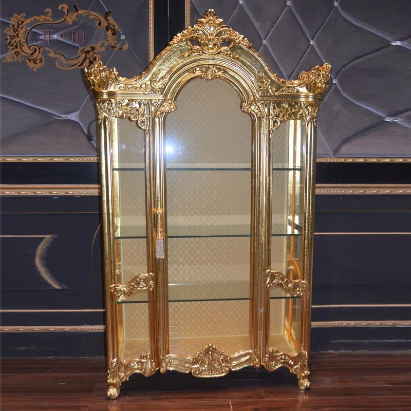 Antique Reproduction French Furnitures - Golden Foil Leaf ...