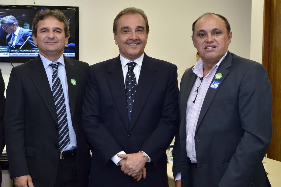 Prefeito de Umarizal, Mano; e prefeito de Cerro Corá, Novinho.