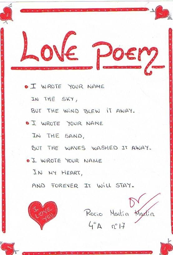 30 Cute Love Poems For Him With Images The Wow Style