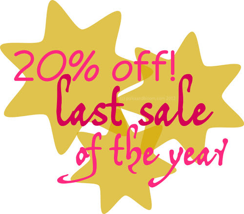Polka & Bloom Last Sale 2012