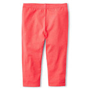 Okie Dokie® Capri Leggings - Girls 12m-6y