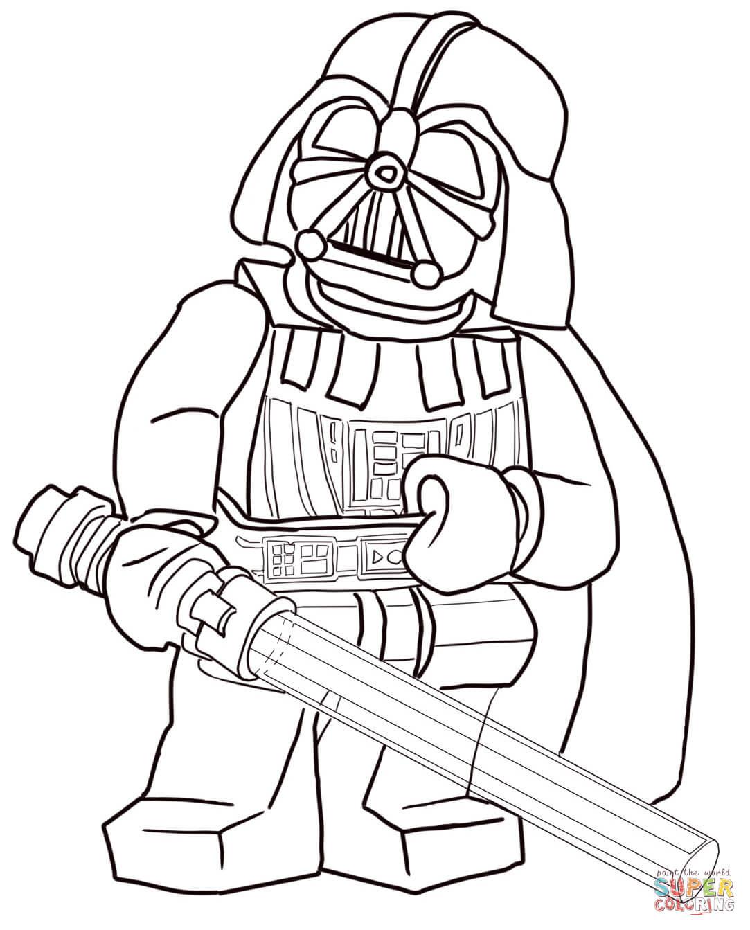 Klik op de Lego Star Wars Darth Vader