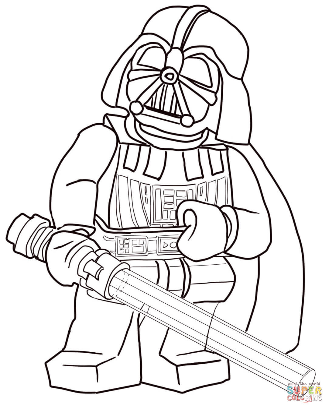 Klick das Bild Lego Star Wars Darth Vader