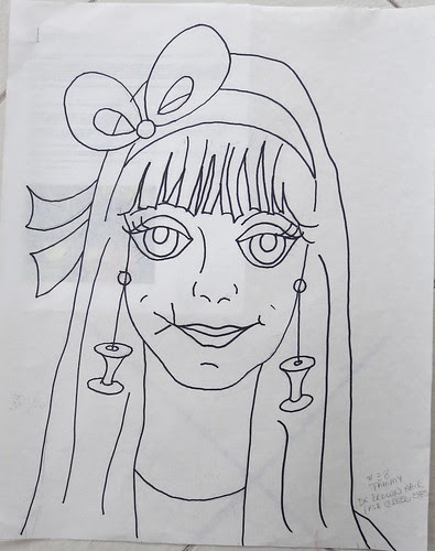 #38 Lady - Tammy - the drawing