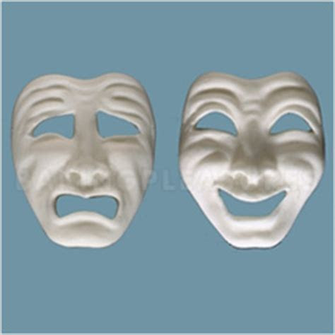 FPC Sugarcraft Comedy & Tragedy Mask Silicone Mould