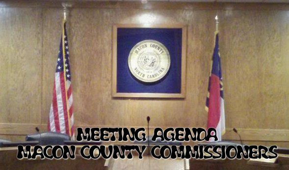 Meeting Agenda for the Macon County Commissioners