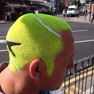 Tennis Ball Haircut