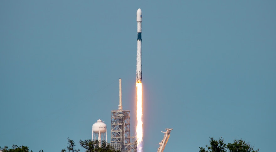 Falcon 9 Bangabandhu 1 launch