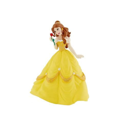 Disney Belle With Rose   Beauty And The Beast Cake Figure