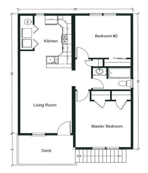 bedroom bungalow floor plan plan