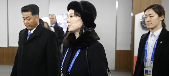 Η Κιμ Γιο-γιονγκ, αδελφή του ηγέτη της Β. Κορέας (Φωτογραφία: AP/ Patrick Semansky)