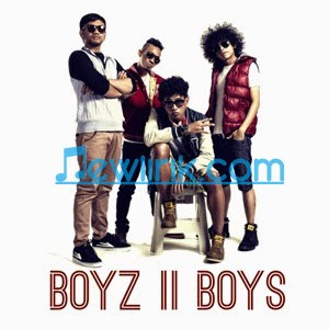 Lirik Boyz II Boys - Sudah