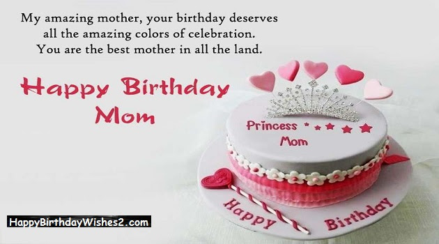 Best 100 Happy Birthday Wishes Messages Quotes For Mother Mom