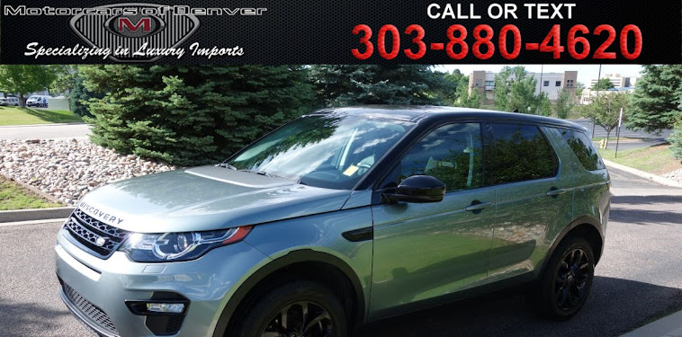 Land Rover Discovery Sport Suv Lease