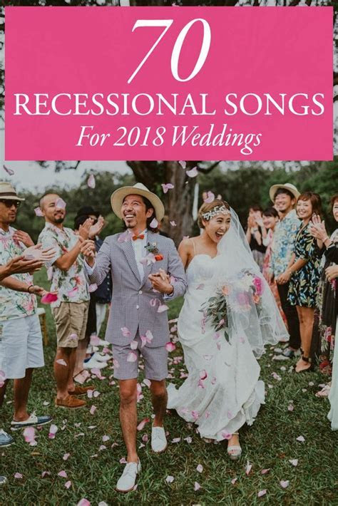 70 Ceremony Recessional Songs for 2018 Weddings   Junebug