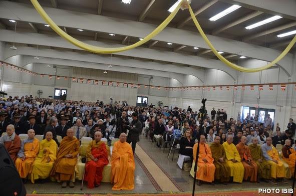 Hội trường Fiesta Hall ngày lễ Phát nguyện tân Ban Lãnh đạo GHPGVNTN Hải ngoại