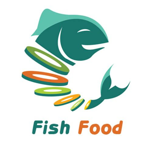 fish food logo design prolines