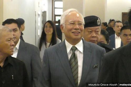 Najib hadapi 125 tahun penjara jika sabit kesalahan