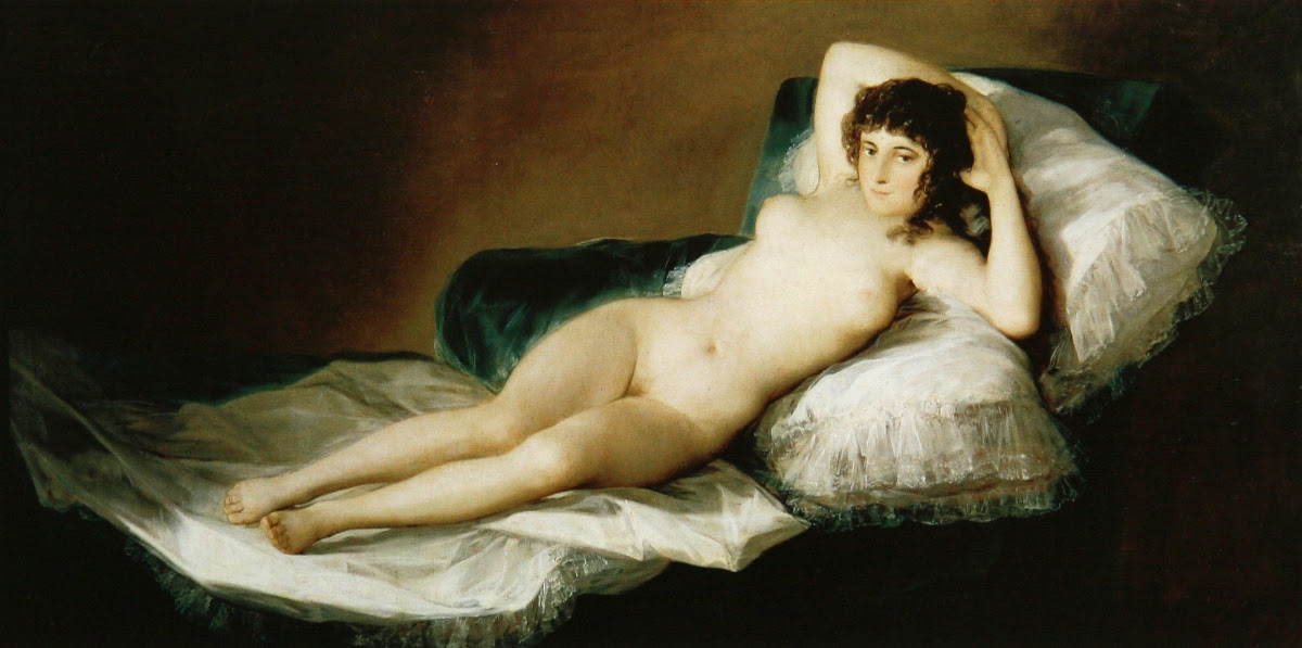 La maja desnuda by Goya