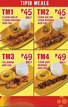 Chicken Deli Tipid Meals