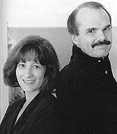 Dean with Gerda Koontz
