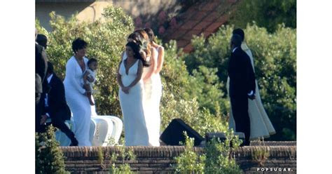 Kim Kardashian and Kanye West Wedding Pictures   POPSUGAR