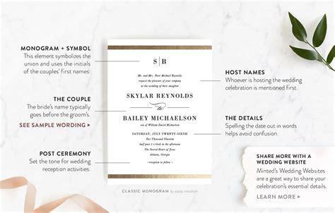 Wedding Invites Ceremony Only Wording