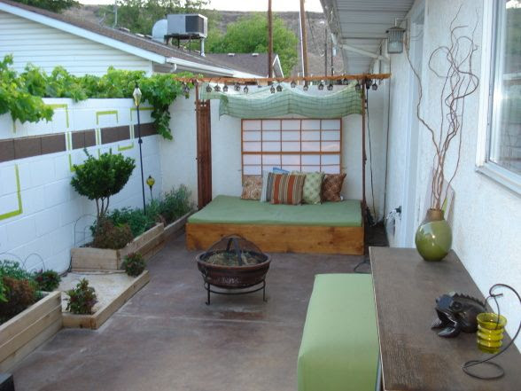 Small Outdoor Patio Ideas Condo