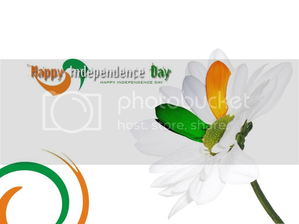 Happy India Independence Day Greetings Glitter Scraps August 2011