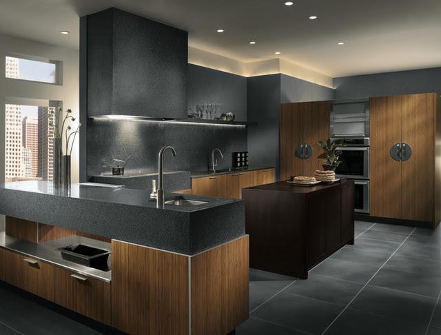 Futuristic Kitchen Contemporary Kitchen houston by