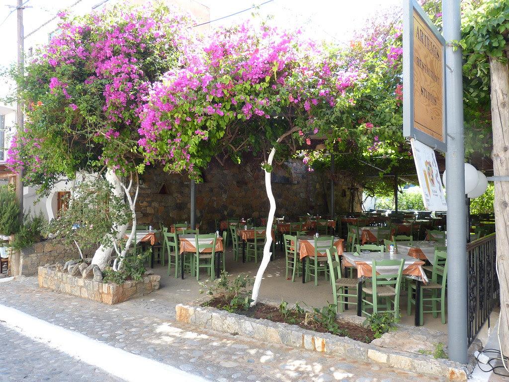 Taverna in Agia Roumeli, Crete