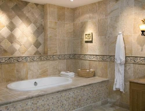 Creative Bathroom Tile Patterns - Bathroom Tile | Fresh Home