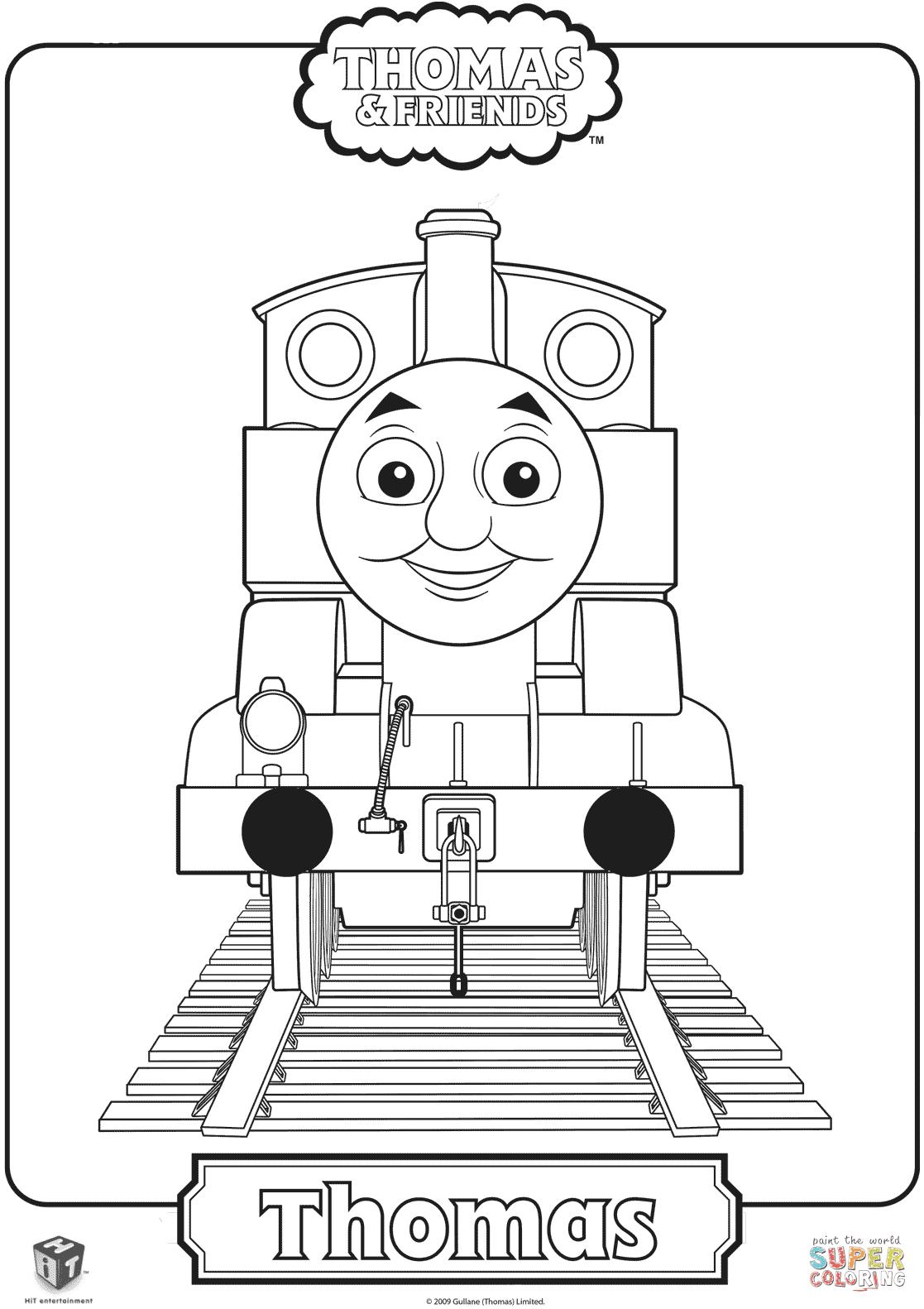 Disegno Di Il Trenino Thomas Da Colorare Disegni Da Colorare E