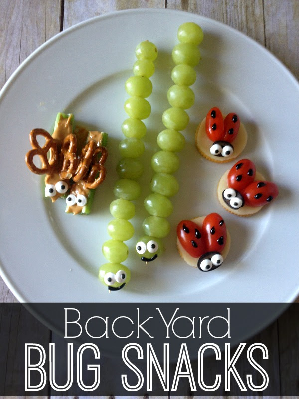 Back Yard Bug Snacks
