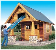 Shed plans for free look craftsman style garden shed plans for Craftsman style shed plans