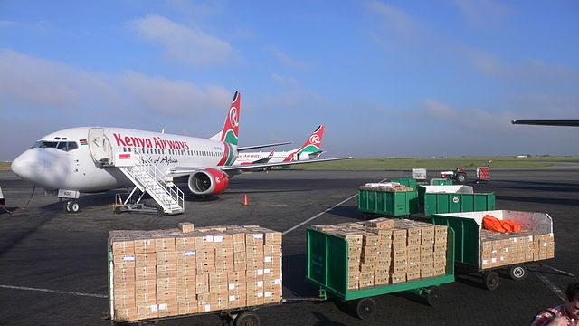 Kenya Airways Boeing 737-300 5Y-KQC