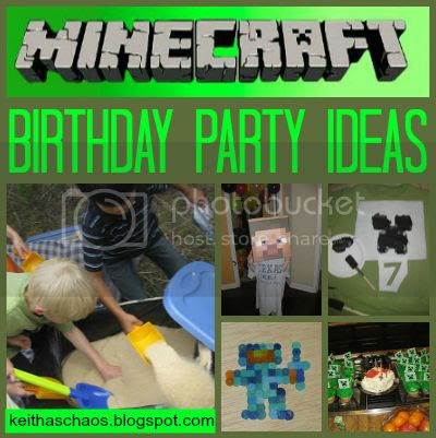 http://keithaschaos.blogspot.com/2013/04/minecraft-birthday-party_7.html