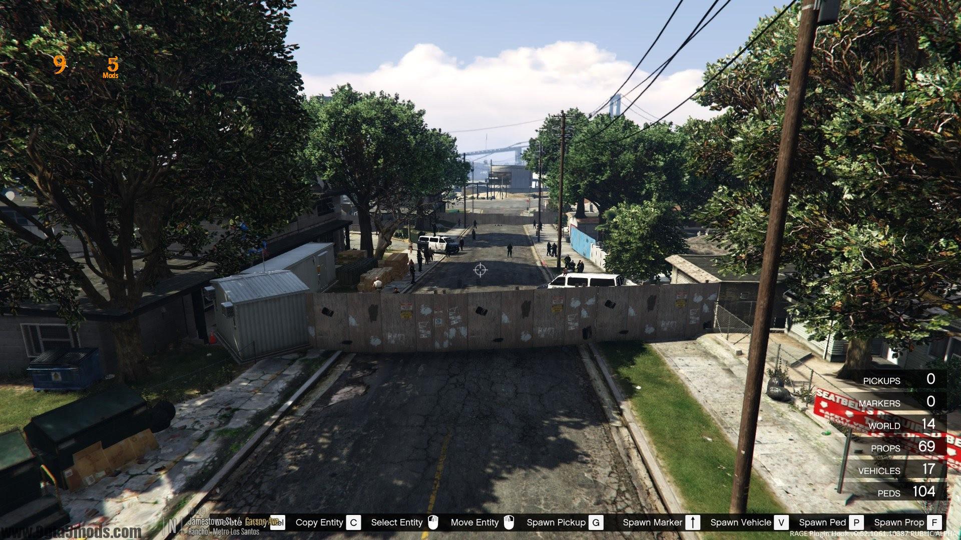 Zombie Base Survival Gta 5 Maps Mods 9gta5mods Com