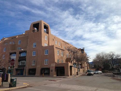 Pueblo-style architecture, Santa Fe