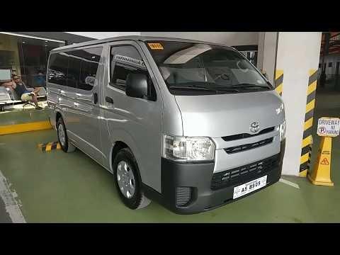 VIDEO: Toyota Hiace COMMUTER 3.0L Diesel ENGINE | Silver METALLIC (Philippines)