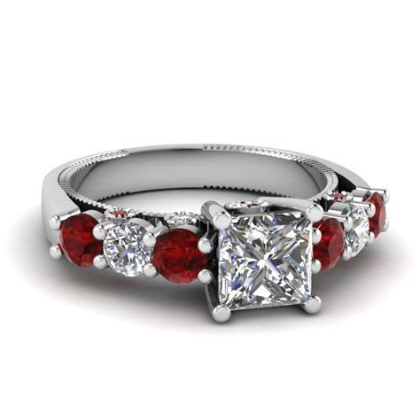 Shop For Classy Bezel Set Engagement Rings   Fascinating