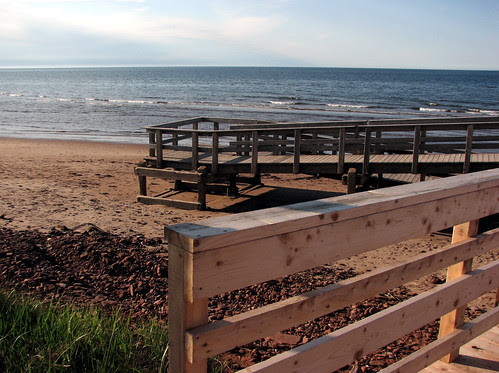 Boardwalk, Stanhope, Beach, Prince Edward Island